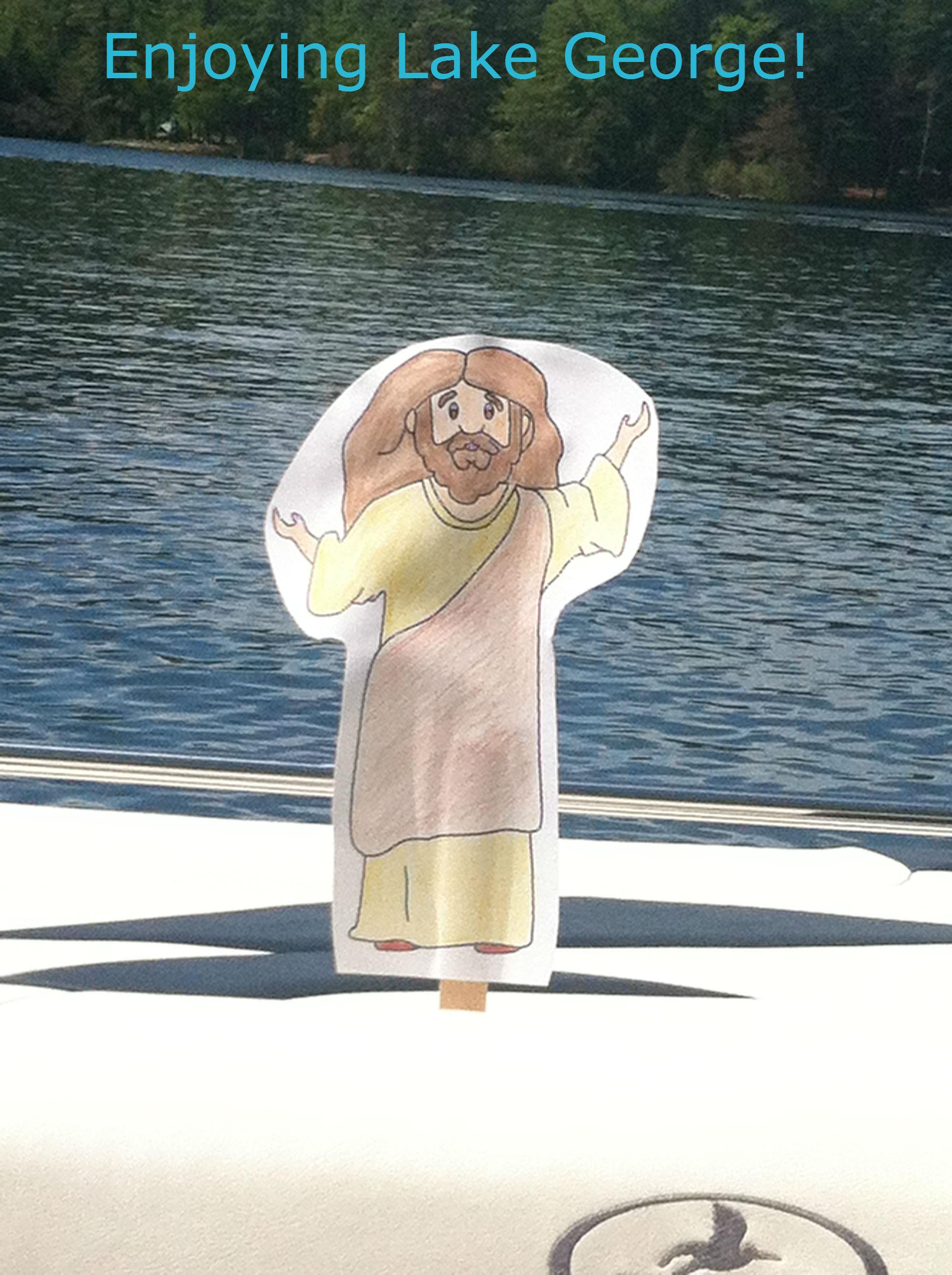 Jesus Lake George